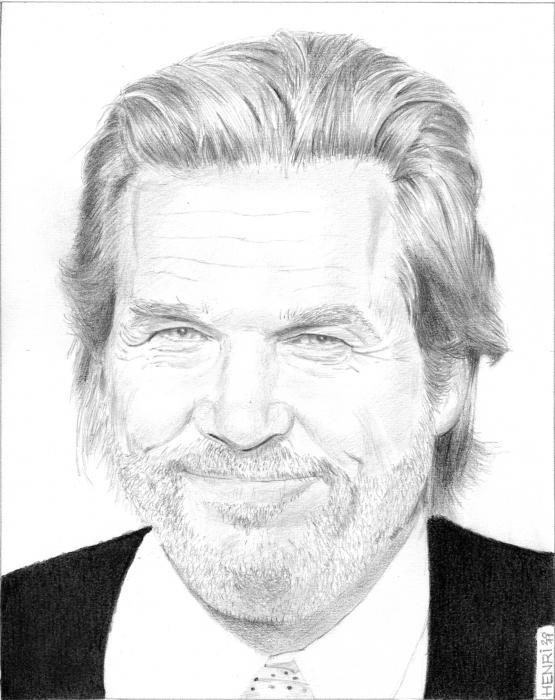 Jeff Bridges by Riton